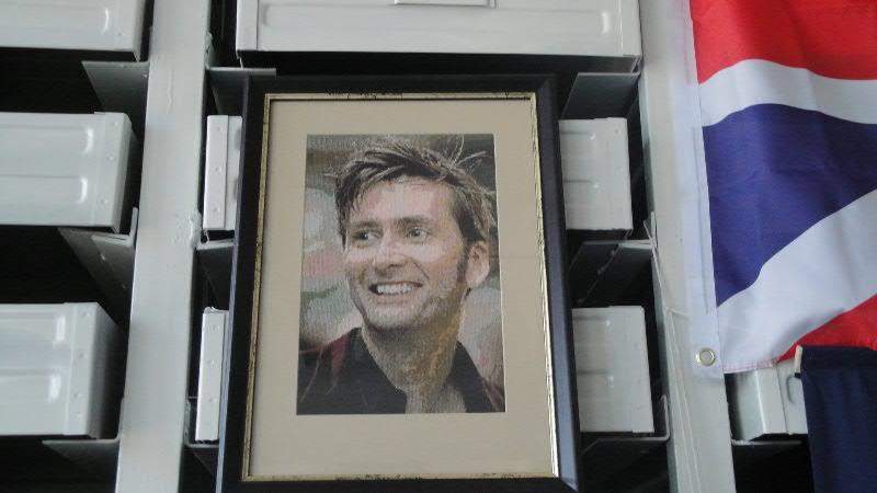 Вышивка Одиннадцатый Доктор (Doctor Who)