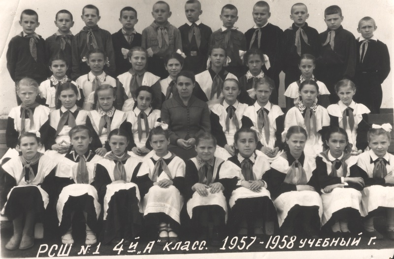 Н. С. Бейзарова с учениками