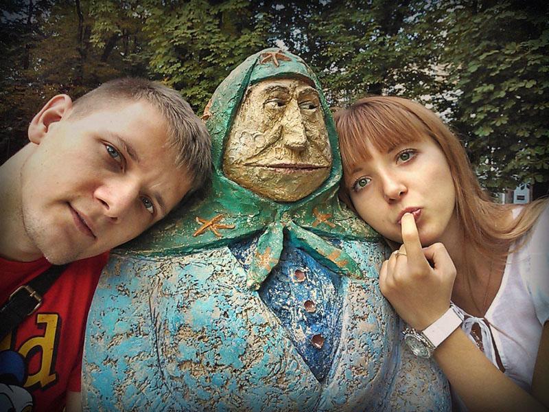 Бабушка в Киеве