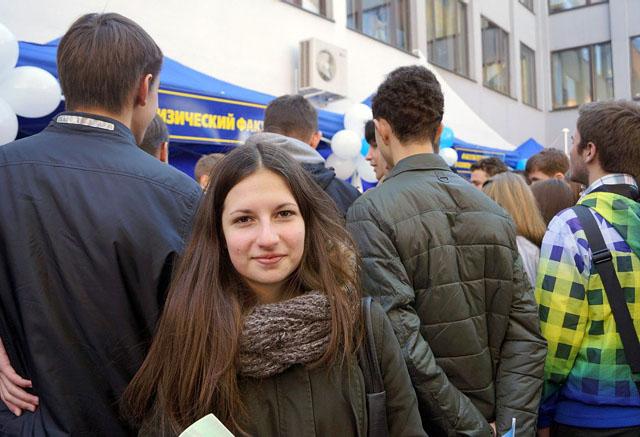 Анна Бухвалова, ученица 10 класса школы №116 Минска