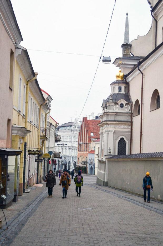 Улицы Вильнюса