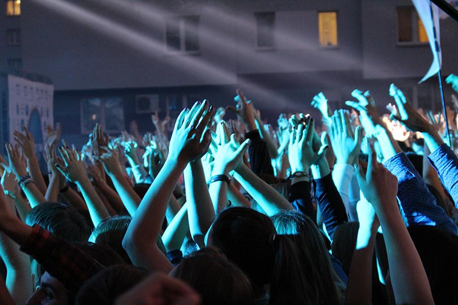 Концерт в студенческом городке 008