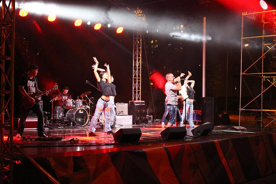 Концерт в студенческом городке 012 Без паники