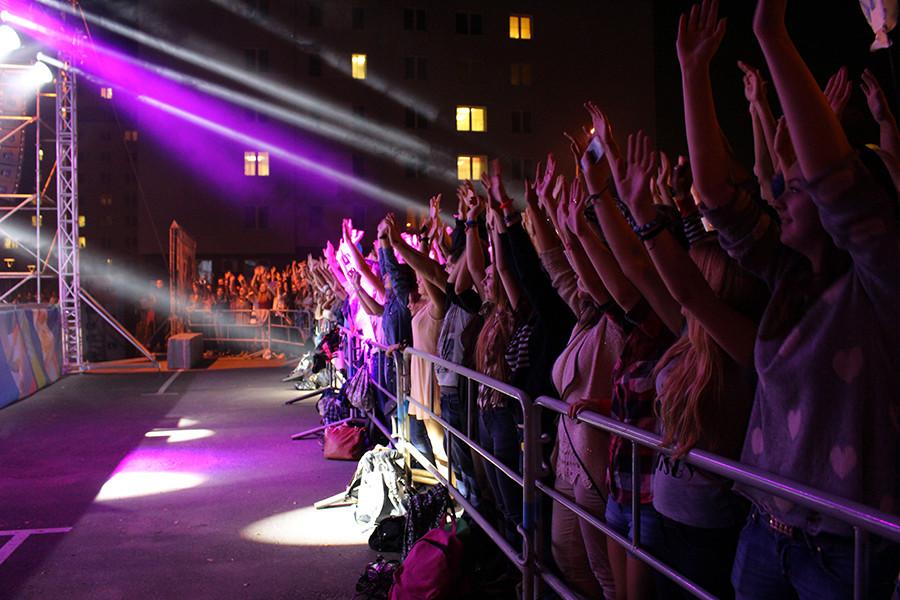 Концерт в студенческом городке 018