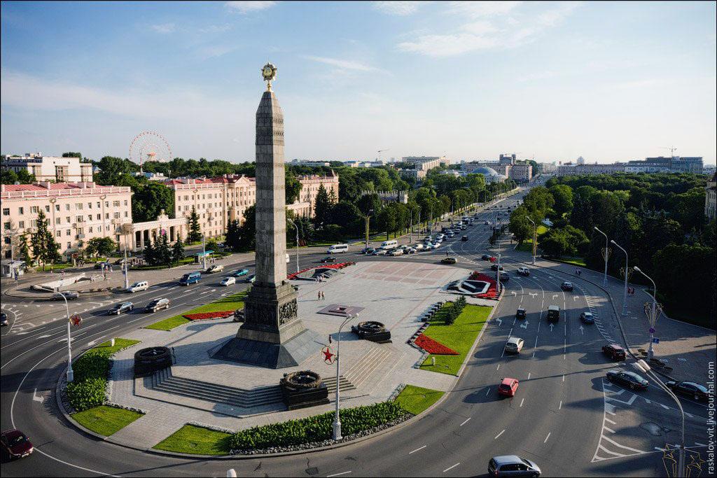 Минск-Площадь-победы