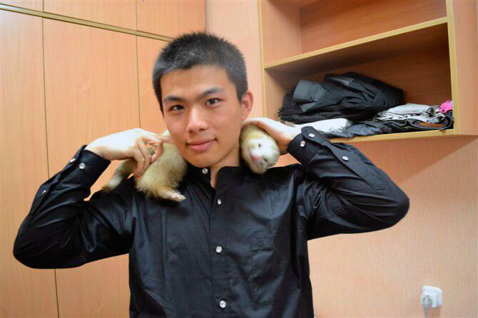 Юй Фанчжоу, 22 года, 3 курс