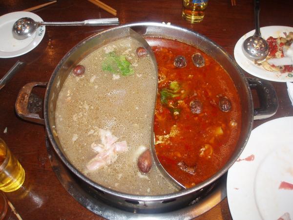 Кухня китайского самовара