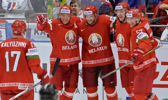 Хоккейная сборная Беларуси пробилась в четвертьфинал чемпионата мира
