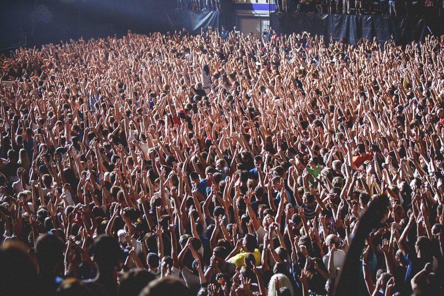 Концерт LinkinPark в Минске: люди стали собираться за 10 часов до начала