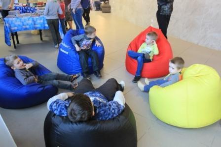 Детская тусовка 3+ в Национальной библиотеке