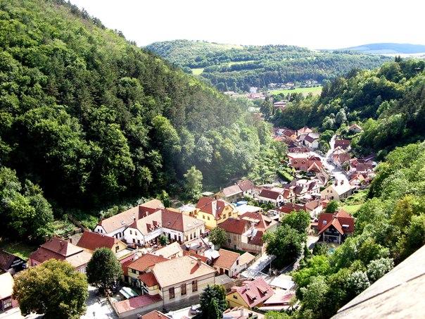 Замок в Карлштейне — флэшбек в средневековье