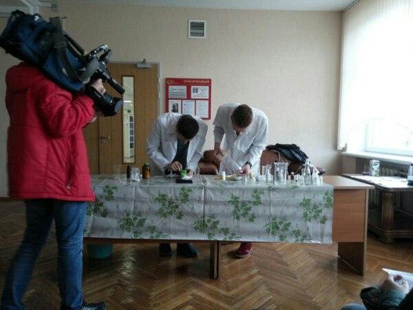 НочьСНАукой в Центральной научной библиотеке имени Я. Коласа НАН Беларуси.
