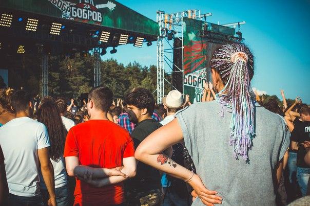 «РОК ЗА БОБРОВ-2016»: 5nizza танцевали на концерте «Браво», а Noize MC наслаждался выступлением 5nizza (фото+видео)