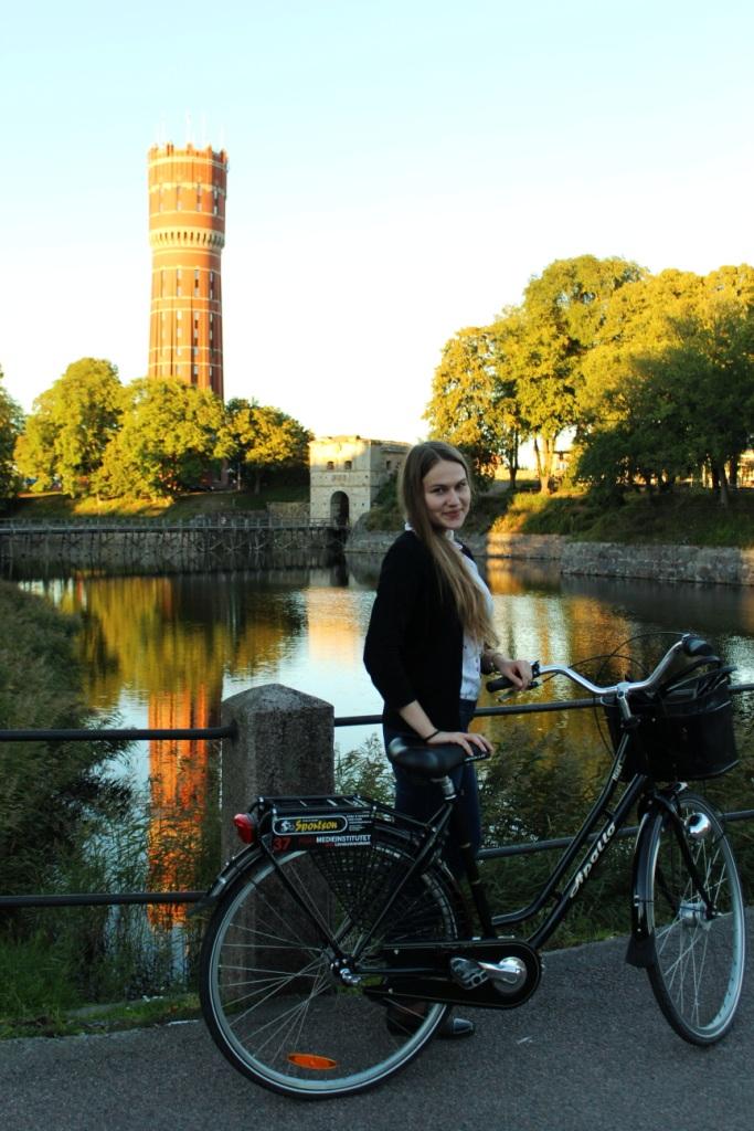 Мне тоже выдали велосипед, на котором с помощью карты путешествовала и открывала для себя красоту необычного Кальмара