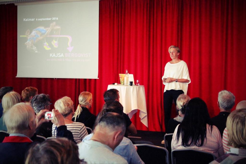 Kajsy Bergqvist подготовила интересное выступление