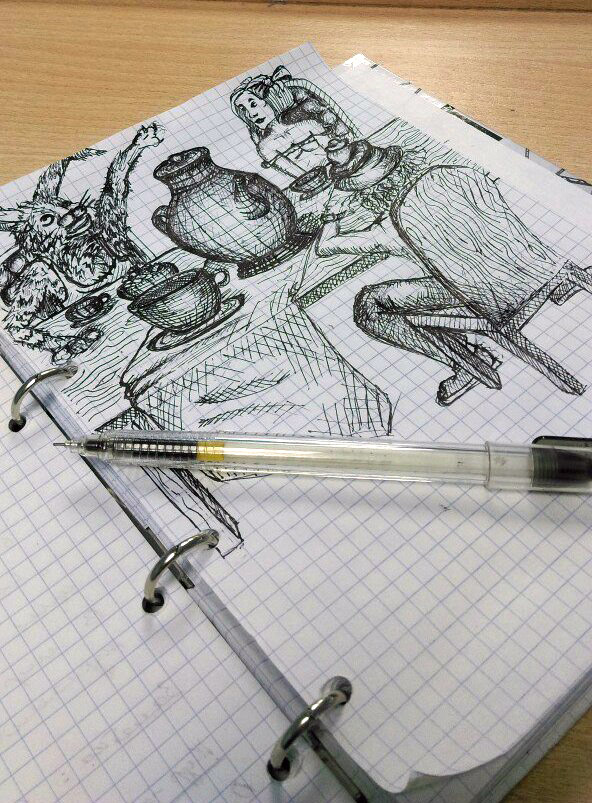 Рисунки Евгении
