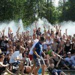 Мокрые войны в парке Горького (8 июля 2012)
