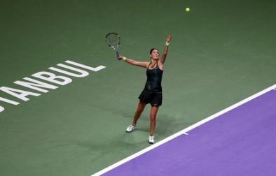 Виктория Азаренко на турнире в Стамбуле
