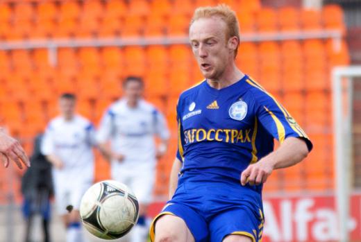 Александр Павлов в матче БАТЭ-Бавария первым поразил ворота соперника