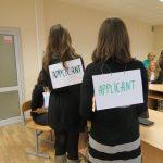 Студенты ФМО БГУ нанимали друг друга на работу по-английски 22