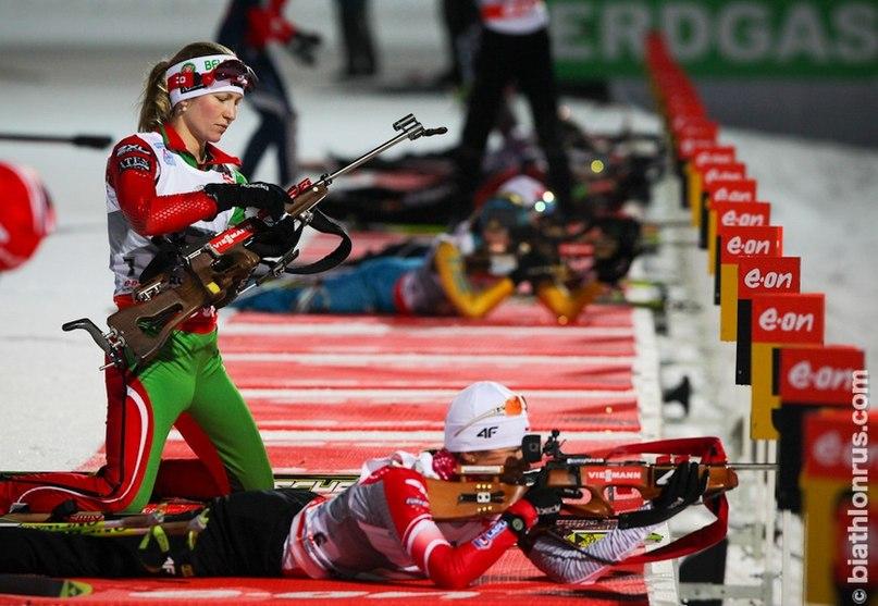 Рупольдинг: Дарья Домрачева показала второй результат в спринте 11