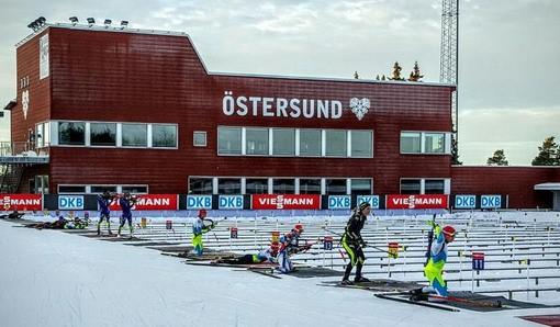 Биатлон. Кубок мира стартовал в шведском городе Эстерсунде 13