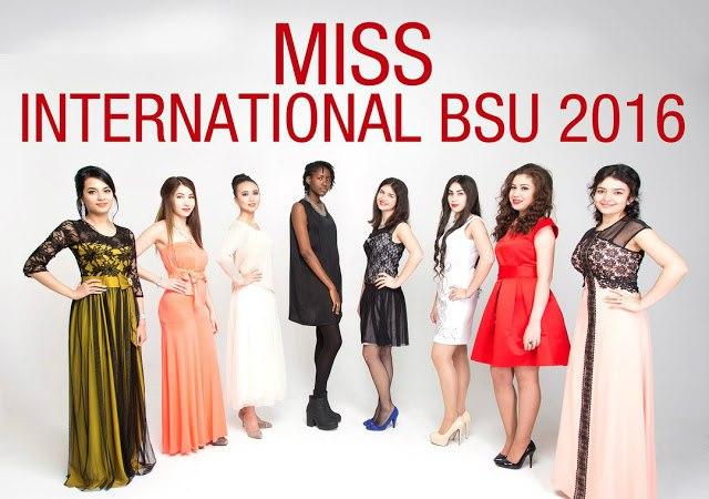Дружба народов: в БГУ выбрали Miss International 2016 7
