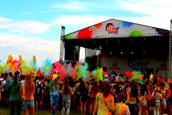 Незабываемое начало лета: в Гродно второй раз прошёл фестиваль красок Холи