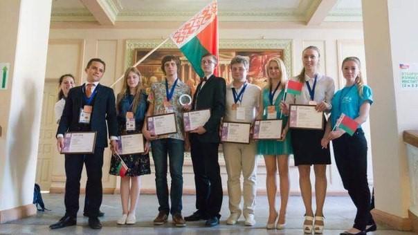 Юные белорусские физики привезли бронзу из Екатеринбурга 14