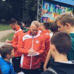 Как проходила презентация гандбольной команды СКА-Минск в парке Горького 15