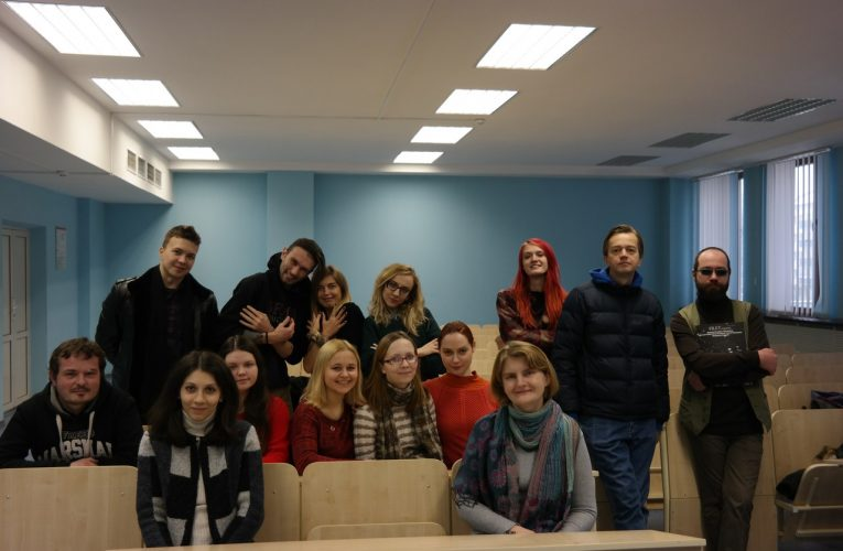 Андрюс: − Нравятся преподаватели и атмосфера!