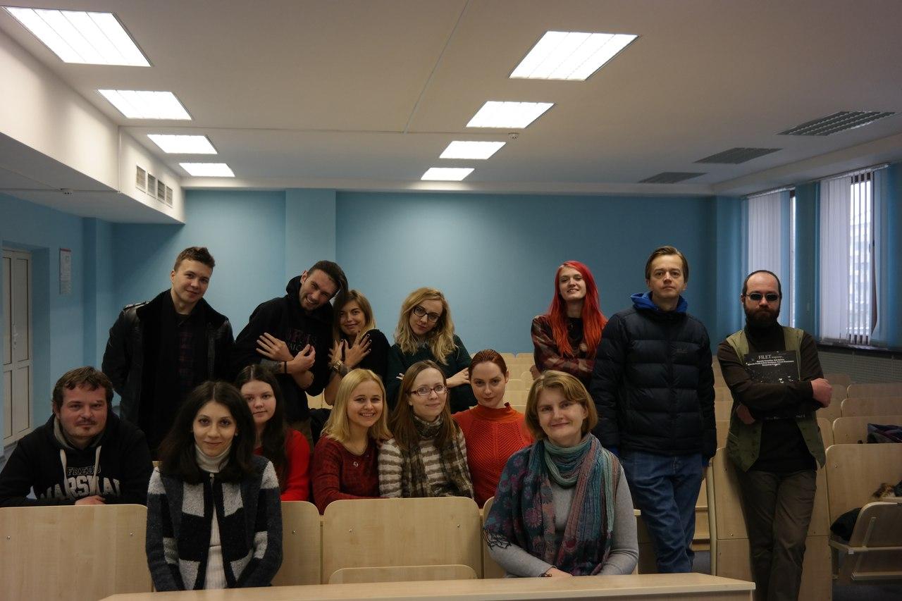 Андрюс: − Нравятся преподаватели и атмосфера! 10