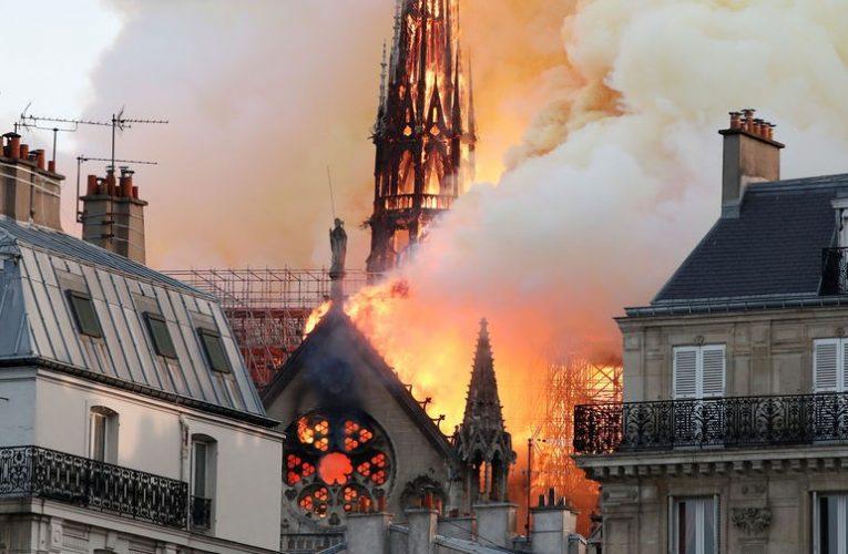 Наследие многовековой истории охвачено пламенем