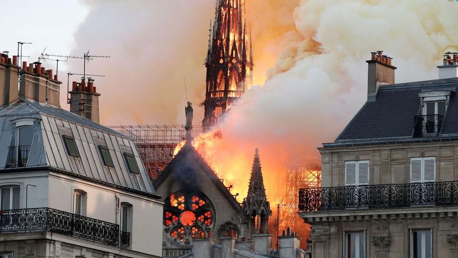 Наследие многовековой истории охвачено пламенем 14