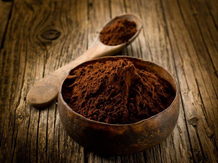 Матирующая маска с какао