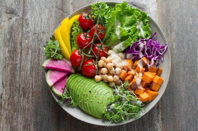 Фрукты-овощи, и никакого мяса