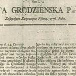 """""""Gazeta Grodzieńska"""" ў пытаннях і адказах 37"""