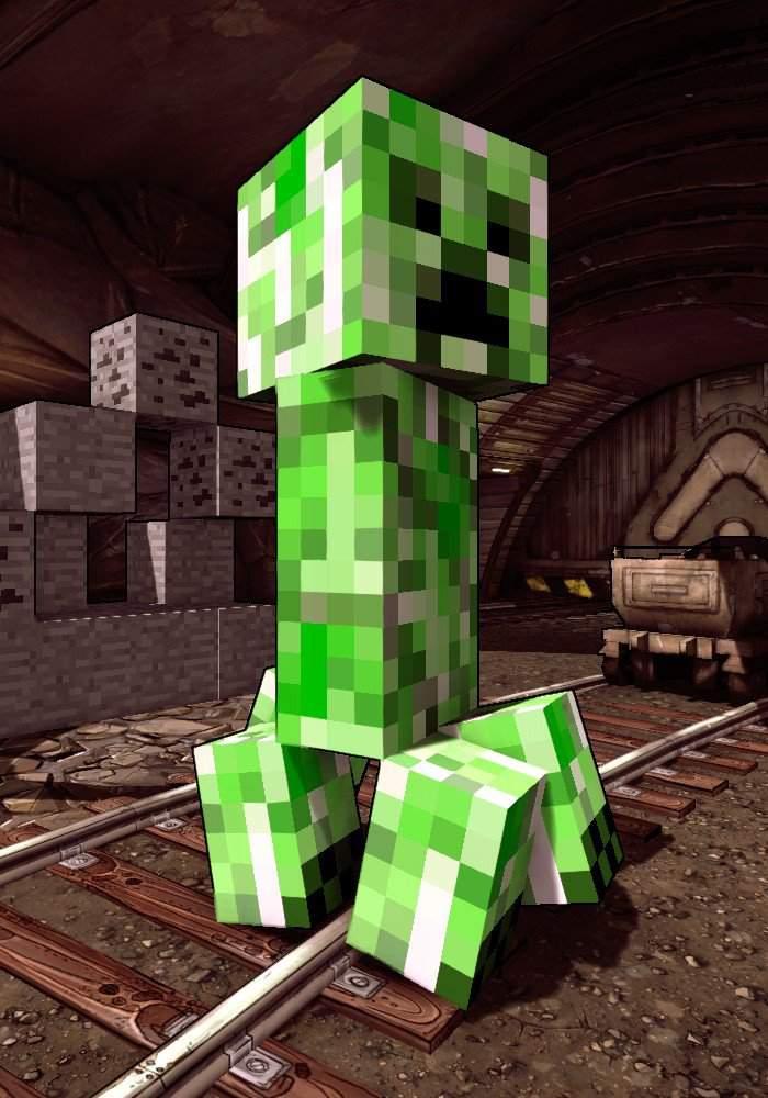 Тайна мира Minecraft, выводы сделаны на основе изучения истории мобов 14