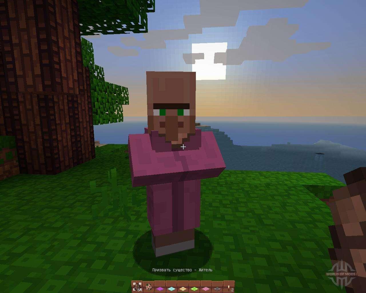 Тайна мира Minecraft, выводы сделаны на основе изучения истории мобов 13