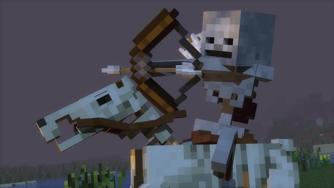 Тайна мира Minecraft, выводы сделаны на основе изучения истории мобов 18