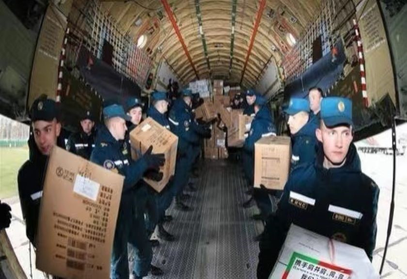 Во время эпидемии Китай и Беларусь помогали друг другу 14