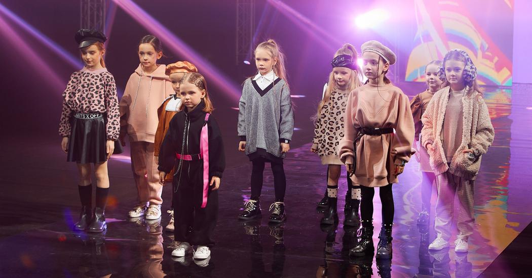 показ бренда LYALYA в рамках детского шоу