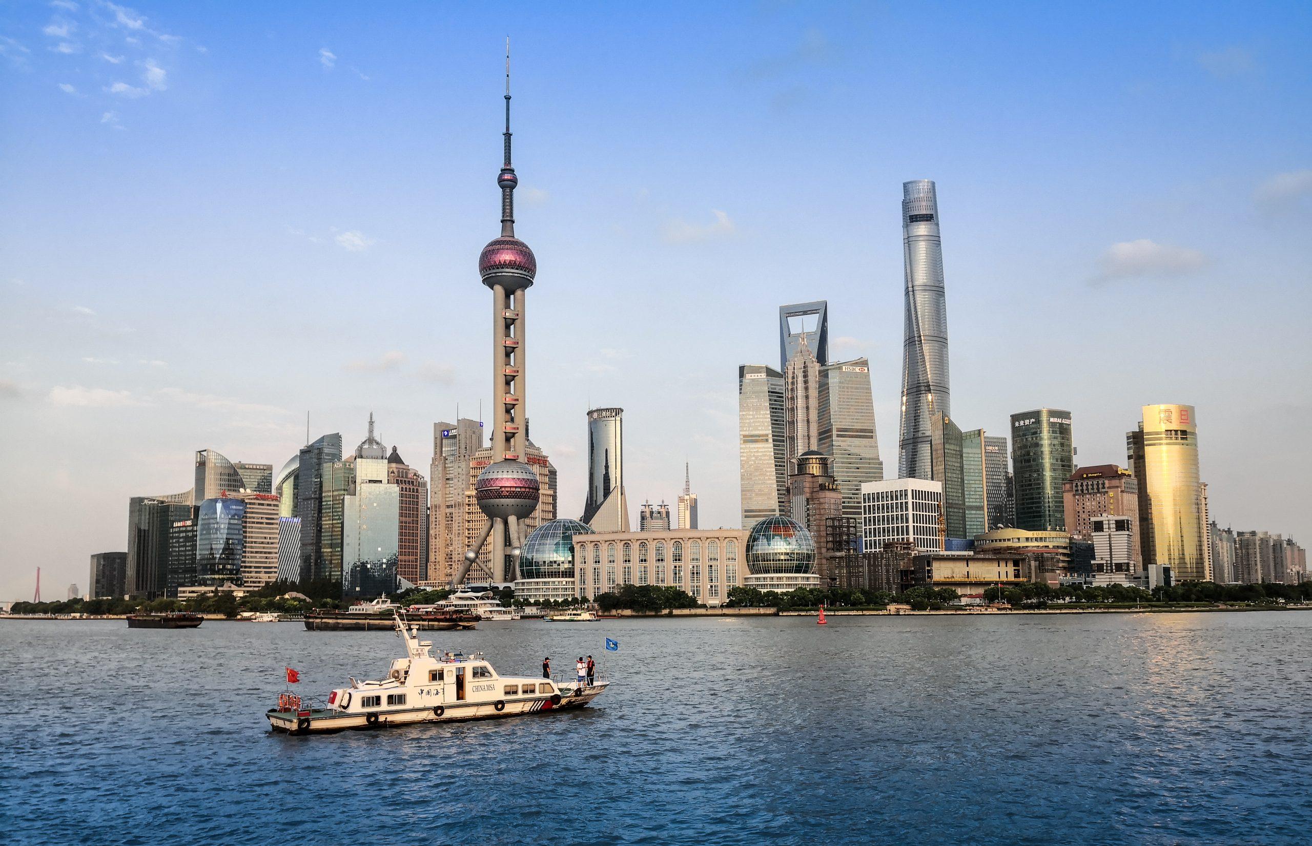 Достопримечательности Шанхая-Набережная Вайтань 7