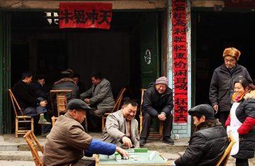 Маджонг — популярный способ развлечения для китайских студентов 15