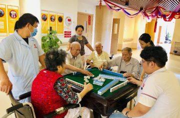 Маджонг — популярный способ развлечения для китайских студентов 16