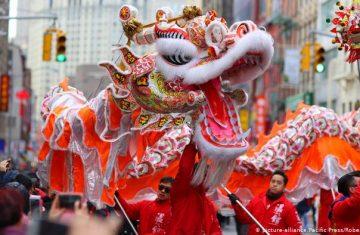 Китайский традиционный фестиваль Весенний фестиваль 21