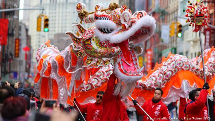 Китайский традиционный фестиваль Весенний фестиваль 13