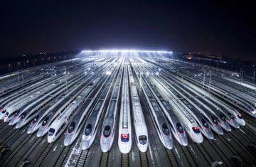 Высокоскоростные железные дороги в Китае 16