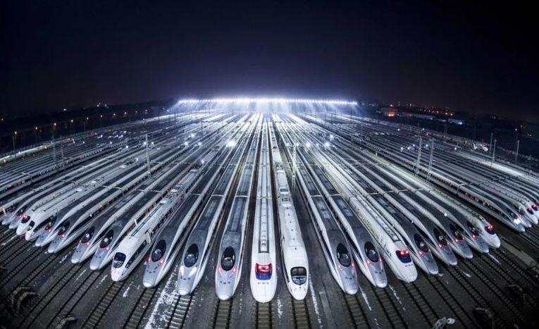Высокоскоростные железные дороги в Китае