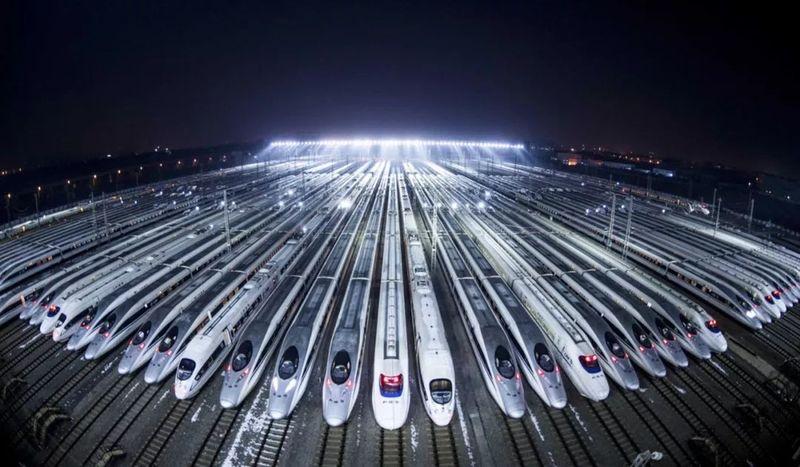 Высокоскоростные железные дороги в Китае 11